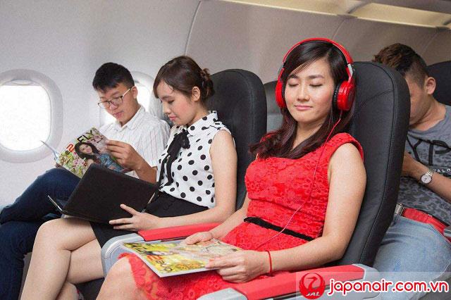 Các phép lịch sự hành khách Japan Airlines nên biết