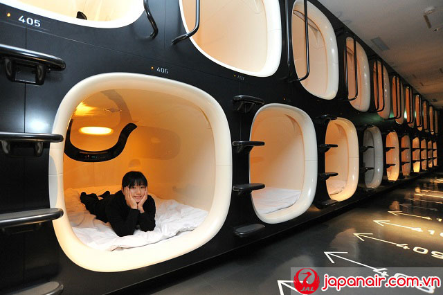 Các nơi lưu trú có một không hai ở Nhật Bản