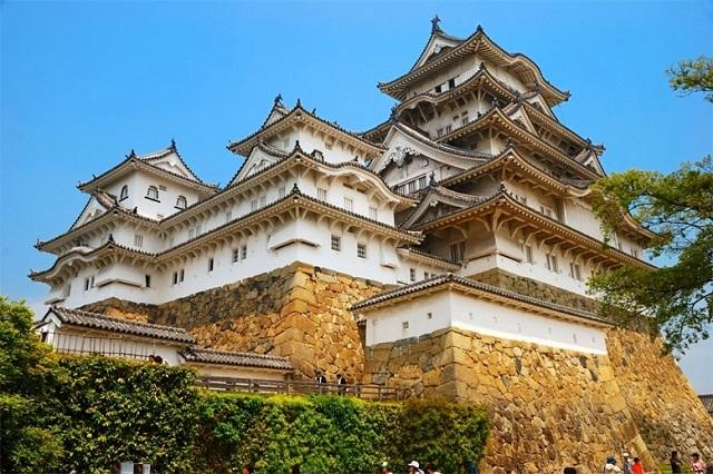 Mãn nhãn trước những tòa lâu đài đẹp nhất Nhật Bản