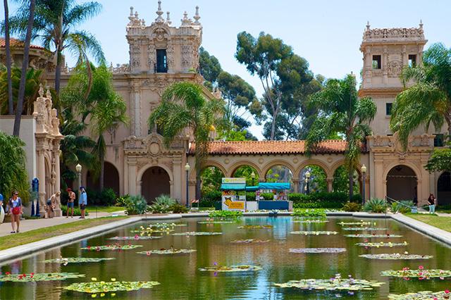 Lạc trôi đến Balboa Park – công viên lớn nhất San Diego