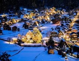 Shirakawago Winter Light-up – lễ hội mùa đông đặc sắc nhất ở Nhật Bản