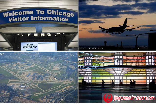 Vé máy bay đi Chicago